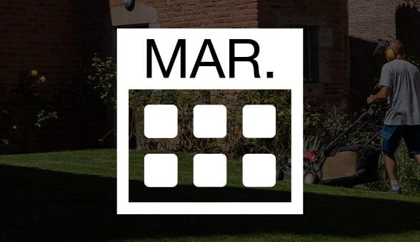 Mars, qu'y a-t-il à faire au jardin ?